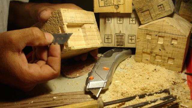 casas madera pallets wood houses handmade