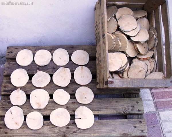 Rodajas Madera Wood Slices Euskadi Madrid Festival Oreka TK3