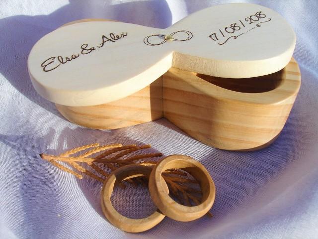 porta anillos boda