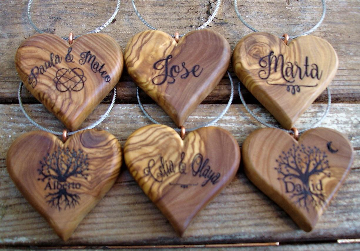 corazones personalizados